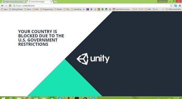 unity bloked